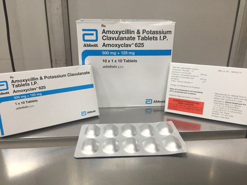 Amoxicillin and Potassium Clavulanate Tablets IP 625 mg uses in Hindi